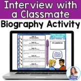 Interview with a Classmate Biography: Digital Back to Scho