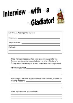 Interview with a Glagiator