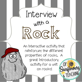 Interview with a Rock: An Introductory Activity for a Unit on Rocks