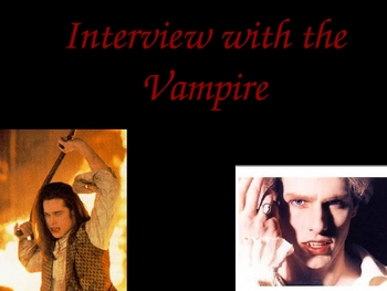 Interview with the Vampire powerpoint power point