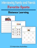 Interviewing Family and Friends - Favorite Sports (Distanc