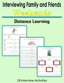 Interviewing Family and Friends - Weekends (Distance Learning)