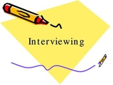 Interviewing Introduction Powerpoint for Yearbook