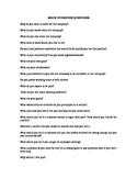 Interviews- List of Mock Interview Questions