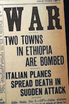 Interwar Alliances 1935: Causes of World War Two