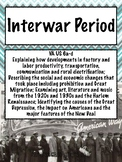 Interwar Period - US History 1865 to Present Cornell Notes