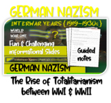Interwar Years (PART 3 GERMAN NAZISM) of HIGHLY VISUAL & ENGAGING, 82-slide PPT