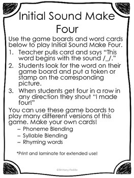 Intial Sound Board Game