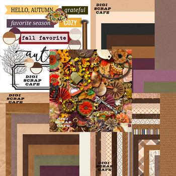 Into Fall Autumn Graphics Bundle
