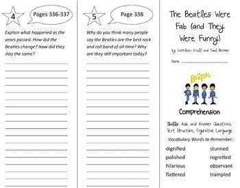 Into Reading 4th Grade Module 5 Trifold Bundle