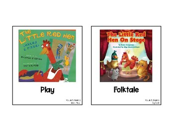 Into Reading Focus Wall Module 5 Week 2 HMH Houghton Mifflin Harcourt