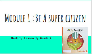 Into Reading Grade 2 :Module 1 Lesson 1  Powerpoint
