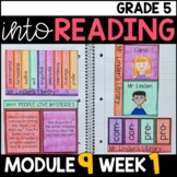 Into Reading HMH 5th Grade Module 9 Week 1 Mr. Linden's Library • GOOGLE