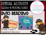 HMH 2.3 Into Reading- The Puddle Puzzle (Digital and Paper Resource)