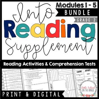 Into Reading (Houghton Mifflin) Second Grade BUNDLE Modules 1 - 5