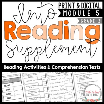 Into Reading (Houghton Mifflin) Second Grade Supplement Module Five