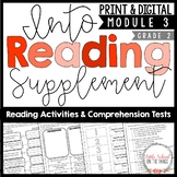 HMH Into Reading Second Grade Supplement Module Three | Distance Learning Google