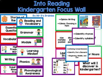 Into Reading Kindergarten Focus Wall