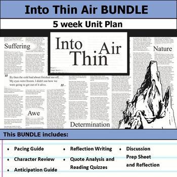 Into Thin Air Unit Bundle