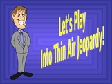 Into Thin Air Interactive Jeopardy Unit Review Game