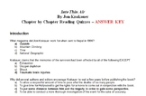 Into Thin Air by Jon Krakauer: Chapter by Chapter Reading Quizzes