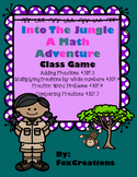 Into the Jungle Fractions Cooperative Team Work Game