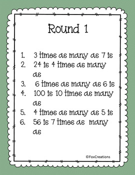 Into the Jungle ~ Wild About Math Multiplication Game! Review for Tests