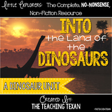 Into the Land of the Dinosaurs:  A Reading, Writing, and Science  Dinosaur Unit