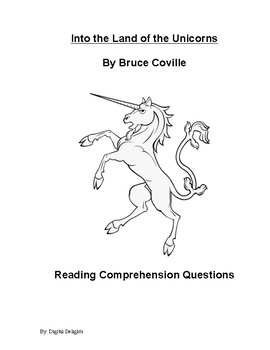 Into the Land of the Unicorns Reading Comprehension Questions