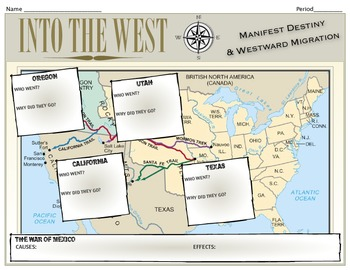 Into the West: Manifest Destiny
