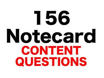 Into the Wild 156 Content Questions Whiteboard Game