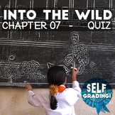 Into the Wild - Chapter 07 Quiz: Carthage - Moodle, Schoology, Blackboard