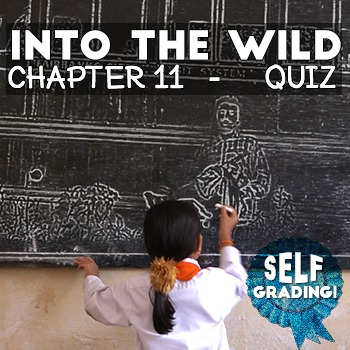 Into the Wild - Chapter 11 Quiz: Chesapeake Beach - Moodle, Schoology, BB
