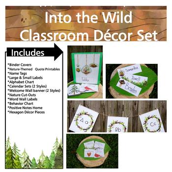 Into the Wild Classroom Decor Set