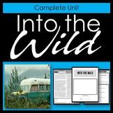 Into the Wild - Complete printable unit and novel study - Jon Krakauer