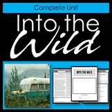 Into the Wild - Complete printable unit and novel study -