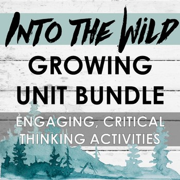 Into the Wild Unit - GROWING BUNDLE: Buy now and save later!