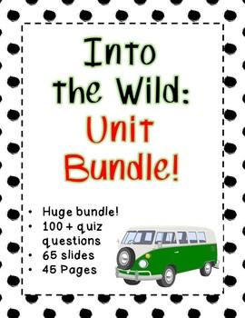Into the Wild - HUGE Unit Bundle