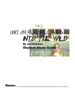 Into the Wild Krakauer Student Study Guide