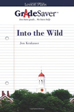 Into the Wild Lesson Plan