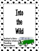 Into the Wild - Multichoice Quiz - Author's Note