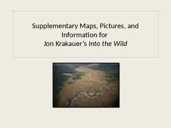 Into the Wild by Kyra Jones |Into The Wild Powerpoint