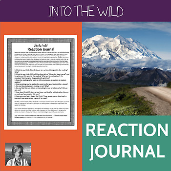 Into the Wild Reaction Journal