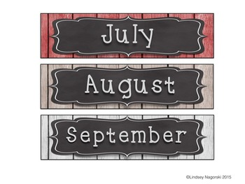 Into the Woods Calendar Pack