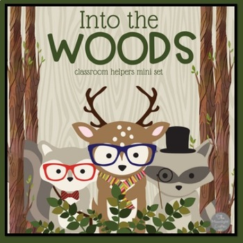 """Into the Woods Classroom """"Hipster"""" Helpers"""