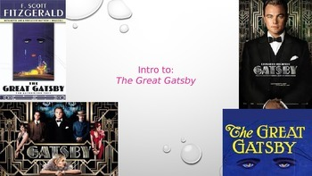 Into to The Great Gatsby PPT