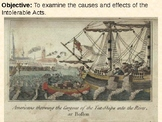 Intolerable Acts PowerPoint Presentation