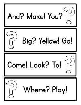 Intonation & Inflection Packet - Reading w/Emphasis. Guided Reading Strips!