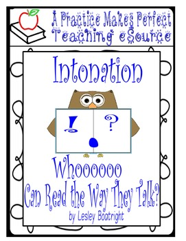 Reading Fluency - Intonation