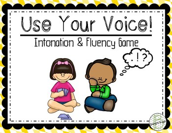 Intonation and Fluency Practice- Primary Practice
